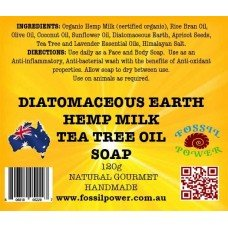 SOAP with Hemp Milk and Tea Tree Oil